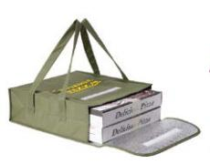 Non-Woven PP Insulated pizza  bag.
