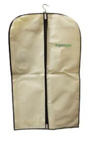 "Non-Woven PP garment  bag with 40"" nylon zipper."